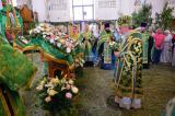 В канун Дня Святой Троицы Митрополит Александр совершил Всенощное бдение в Брянском Свято-Троицком Кафедральном Соборе