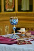 В Неделю 7-ю по Пасхе Митрополит Александр возглавил Божественную литургию в Брянском Кафедральном Соборе