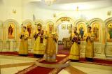 В канун Прощеного воскресенья Митрополит Александр совершил Всенощное бдение в Брянском Кафедральном Соборе
