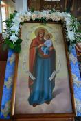 Митрополит Александр возглавил празднование в честь иконы Божией Матери «Споручница грешных» в Карачевском Николо-Одрином монастыре